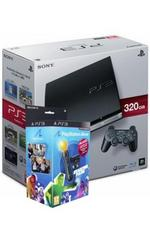 View Item Playstation 3 Slim 320GB Console and Move bundle pack